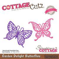Лезвие CottageCutz - Garden Delight Butterflies (Elites)