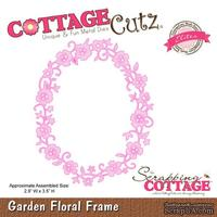 Лезвие CottageCutz - Garden Floral Frame (Elites)