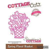 Лезвие CottageCutz - Spring Floral Basket (Elites)