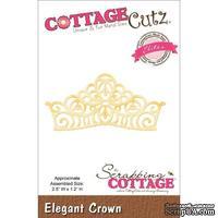 Лезвие CottageCutz - Elites Die - Elegant Crown