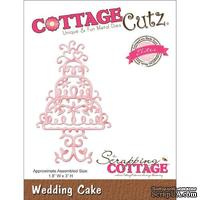 Лезвие CottageCutz - Elites Die - Wedding Cake