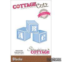 Лезвие CottageCutz - Elites Die - Blocks