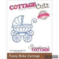 Лезвие CottageCutz - Elites Die - Baby Carriage