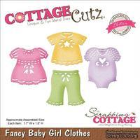 Лезвие CottageCutz - Elites Die - Baby Girl Clothes