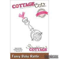 Лезвие CottageCutz - Elites Die - Baby Rattle - Детская погремушка