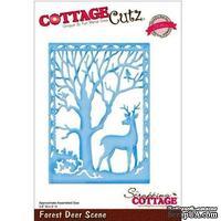 Лезвие CottageCutz - Forest Deer Scene