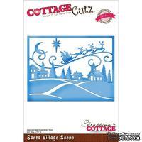 Лезвие CottageCutz - Santa Village Scene