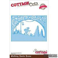 Лезвие CottageCutz - Walking Santa Scene
