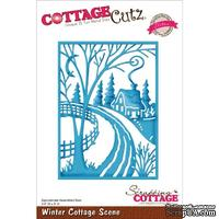 Лезвие CottageCutz - Winter Cottage Scene
