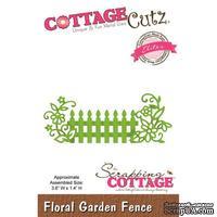 Лезвие CottageCutz - Floral Garden Fence