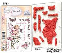 Набор штампов от Crafter's Companion - Flower Fairy EZMount Stamp Set - Candy Tuff