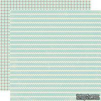Лист скрапбумаги Lily Bee Design - Hot Cocoa, 30х30 см, двусторонняя