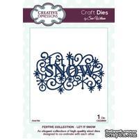Лезвие Sue Wilson -Festive Collection - Let It Snow