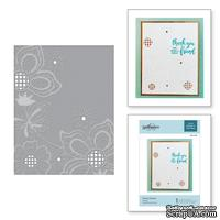 Папка для тиснения от Spellbinders - Floret Cluster Cut and Emboss Folder