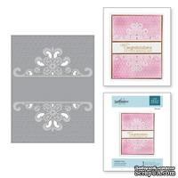 Папка для тиснения от Spellbinders - Dotted Lace Cut and Emboss Folder