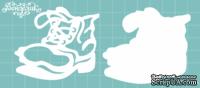 Чипборд от Вензелик - Ботинок, размер: 60x70 мм