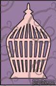 Чипборд. Птичья клетка №4. Большая cb-124