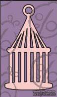 Чипборд. Птичья клетка №3. Маленькая, cb-123