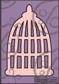 Чипборд. Птичья клетка №2. Маленькая, cb-121