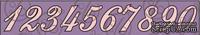 Чипборд. Цифры №2, 3 см, cb-381