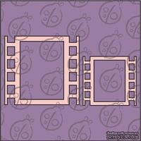 """Чипборд. Набор рамок """"Кинокадр"""" №1 cb-339"""