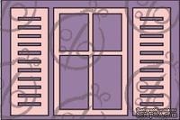 """Чипборд. Набор """"Окно со ставнями"""". Большой, 3 элемента, cb-160"""
