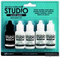 Набор медиумов Ranger Claudine Hellmuth Studio Kit Mediums, 5 штук