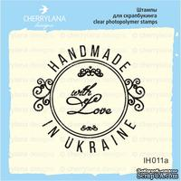 "Штамп ""HANDMADE IN UKRAINE with Love"" IH011а"