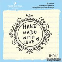 "Штамп ""HANDMADE with Love"" IH041"
