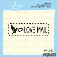 """Штамп """"LOVE mail"""" PVL022"""