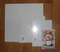 "Холст на картоне ""Хлопок"", размер 10х10 см, 1 шт. - ScrapUA.com"