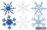 Снежинки из фетра Creative Impressions -  Winter, 24 штуки