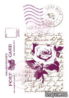 Акриловые штампы от Wild Rose Studio - Love Letters, 4 шт