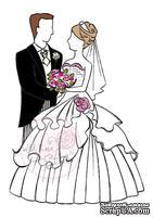 Акриловые штампы от Wild Rose Studio - Wedding Couple