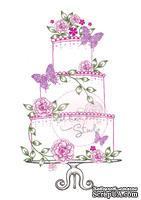 Акриловый штамп от Wild Rose Studio - Wedding Cake