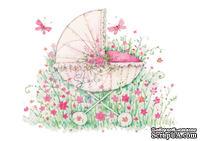Акриловый штамп от Wild Rose Studio - New Baby