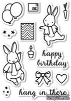 Штампы от Memory Box - Birthday Bunnies clear stamp set