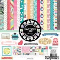 Набор бумаги от Echo Park  - Capture Life, 30х30см, 12+2 листов