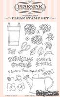 Набор ножей и штампов от Impression Obsession - Hydrangea Blooms -CL739 + DIE494-YY - Гортензия