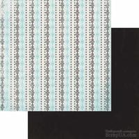 Двусторонний лист скрапбумаги Authentique - Classique Elegant -Elegant One, 30х30 см