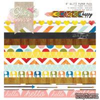 Набор бумаги от Glitz Design - Сolor me Happy - 15х15 см