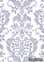 Папка для тиснения Couture Creations - Large Damask Flourish, Elegance Collection