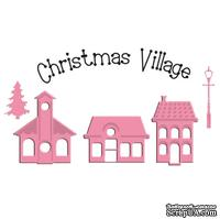 Лезвие Marianne Design - Collectable Dies & Stamp Set - Mini Xmas Village