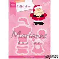Лезвие Marianne Design - Collectables Die & Stamp Set - Eline's Santa