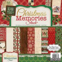 Набор бумаги DCWV - Christmas Memories, 30х30 см, 24 листа