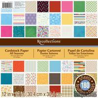 Набор скрапбумаги от Recollections™ - All Seasons, 30х30 см, 180 листов