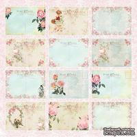Лист односторонней скрапбумаги от Craft&You Design - BEAUTIFUL DAY, 30,5x30,5 см