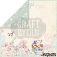 Лист скрапбумаги от Craft and You Design - Hello Baby, 30х30 см, CP-HB05