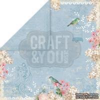 Лист скрапбумаги от Craft and You Design - Vintage Time, 30х30 см, CP-VT06