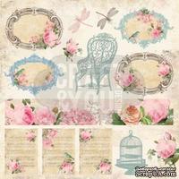 Лист скрапбумаги от Craft and You Design - Vintage Time, 30х30 см, CP-VT07